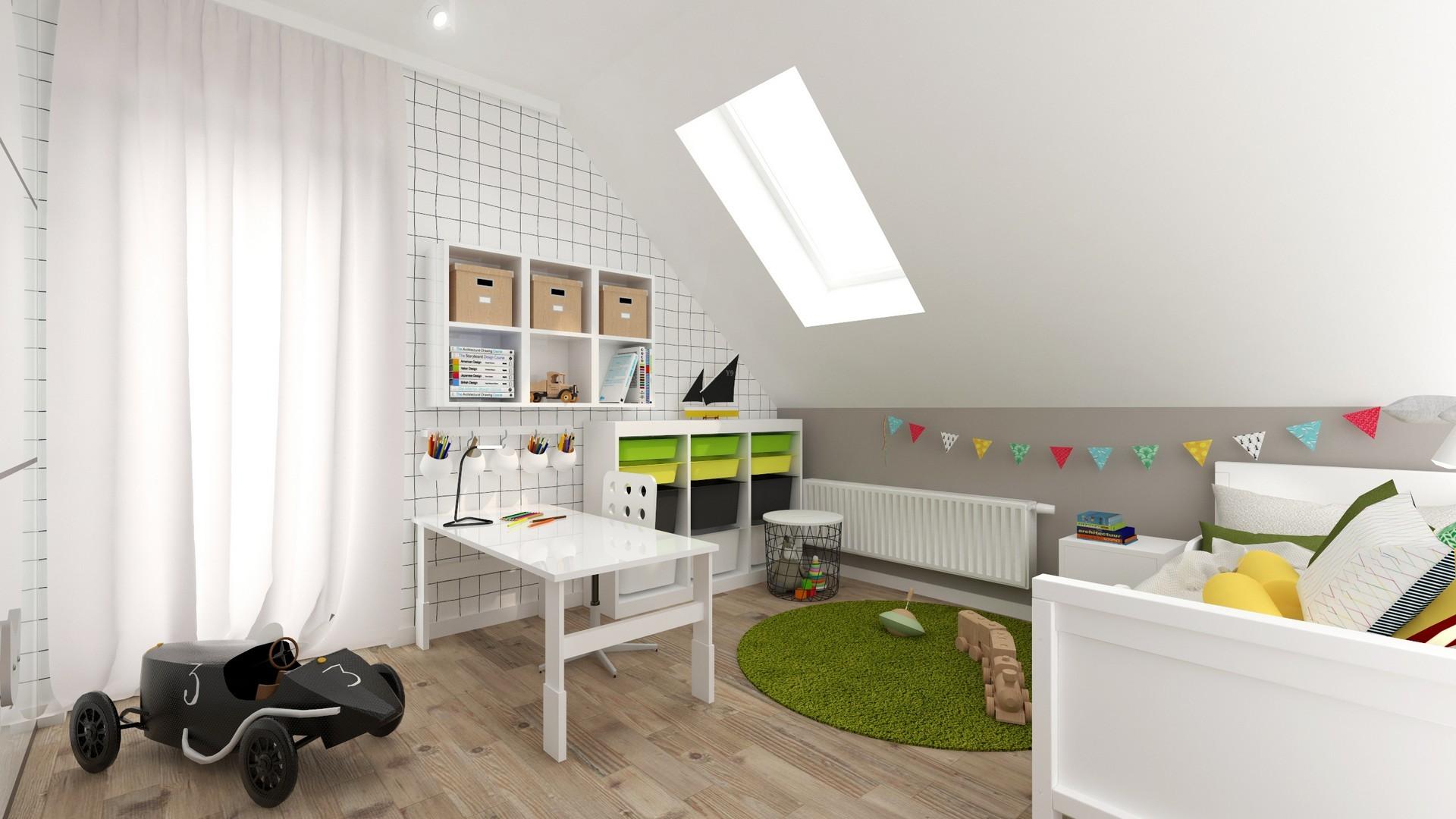 Tiuk Studio -pokój przedszkolaka pokój dziecko projektowanie wnętrz piekary śląskie I Orzech