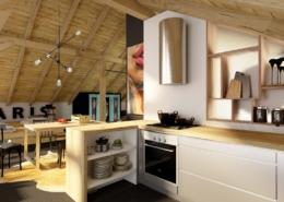 Tiuk Studio - projekt wnętrza domu I Osięciny