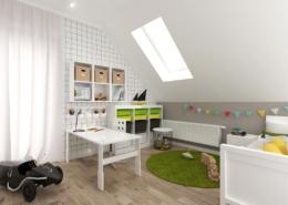 Tiuk Studio -pokój przedszkolaka pokój dziecko projektowanie wnętrz piekary śląskie IOrzech