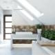 Tiuk Studio - projekt łazienki dom jednorodzinny poddasze I aranżacja łazienki I projektowanie i aranżacja