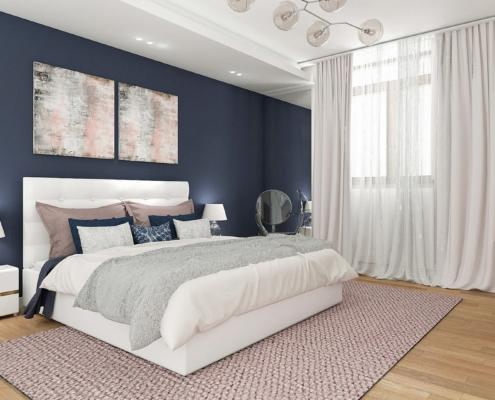 Tiuk Studio - projekt wnetrza kamienica I projekt sypialni w kamienicy I projektowanie wnetrz Siemianowice Śląski LOGO