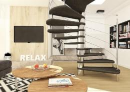 Tiuk Studio - projekt sypialni napoddaszu Iaranżacja sypialnia zcegłą Iprojekt pokoju dziewczynki Iaranżac