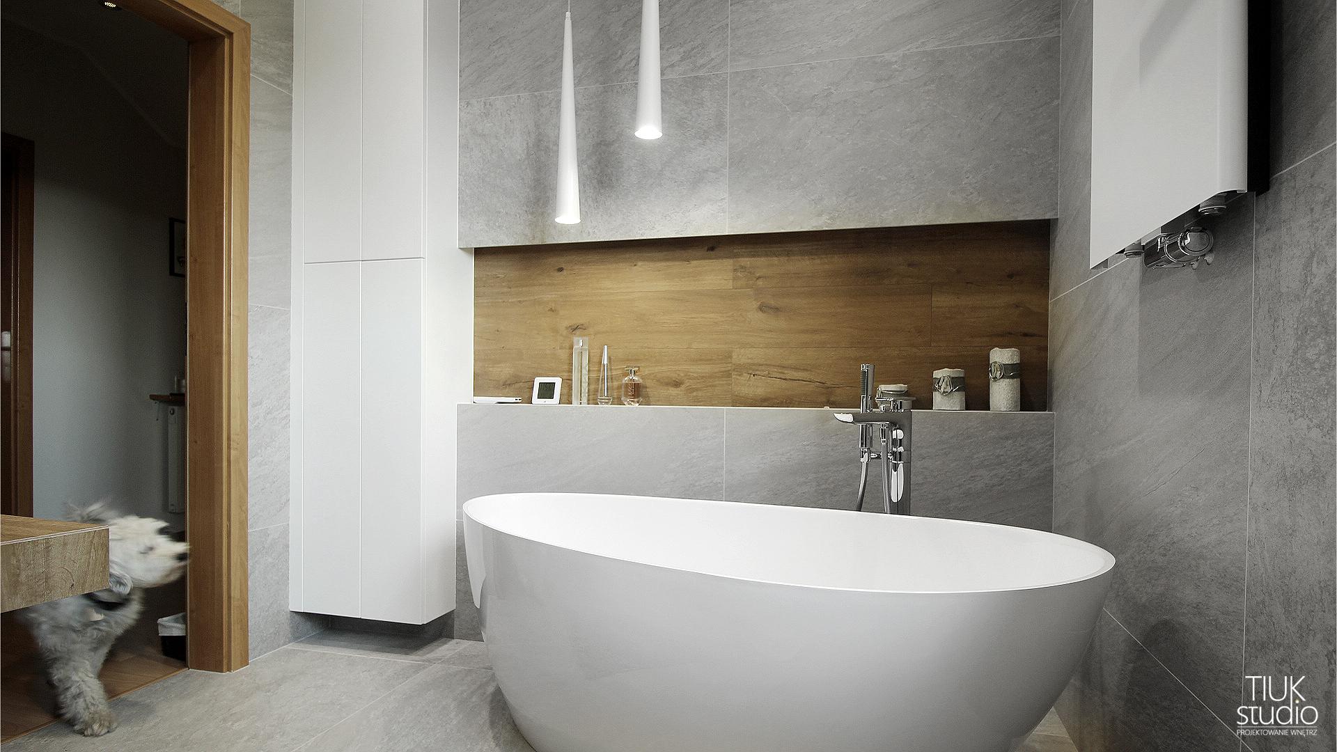 Nowoczesna łazienka Z Wanną Wolnostojącą Projektowanie I